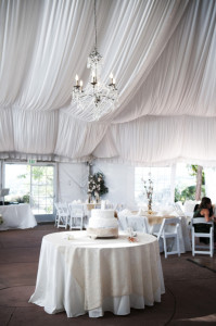 White Extension Cords and Weddings