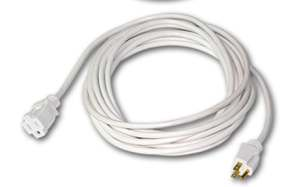 White extension cord