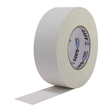 white gaffers tape